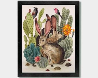 Down In The Desert - Artwork by Jason Smith