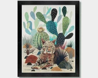 Sonoran Cat - Artwork by Jason Smith