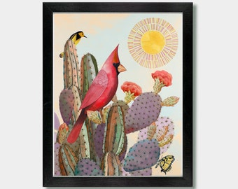Sonoran Scarlet - Artwork by Jason Smith