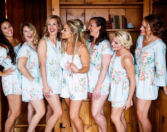 1e23e635be Dreamy Angel Song Mismatched Rompers By Silkandmore - Bridesmaids Gifts