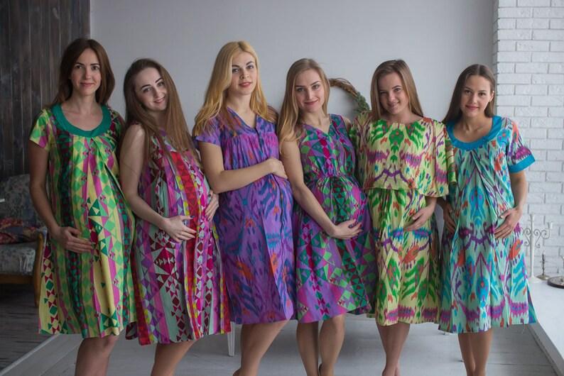2e87bc003 Aztec parto vestidos vestidos de trabajo entrega vestidos