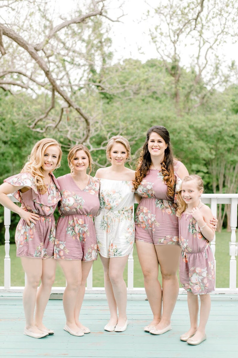 b600c6f90ee Dusty Mauve Rompers By Silkandmore - Bridesmaids Gifts