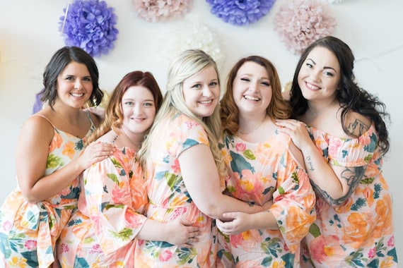 8d3df8d28fac Mismatched Blush Rompers Bridesmaids Rompers in Her Petal