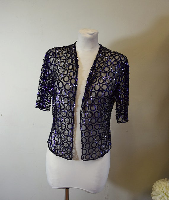 1930s sequinned jacket
