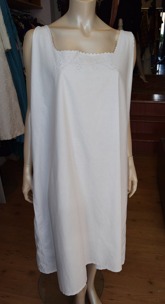 1930's French Chemise monogrammed with M