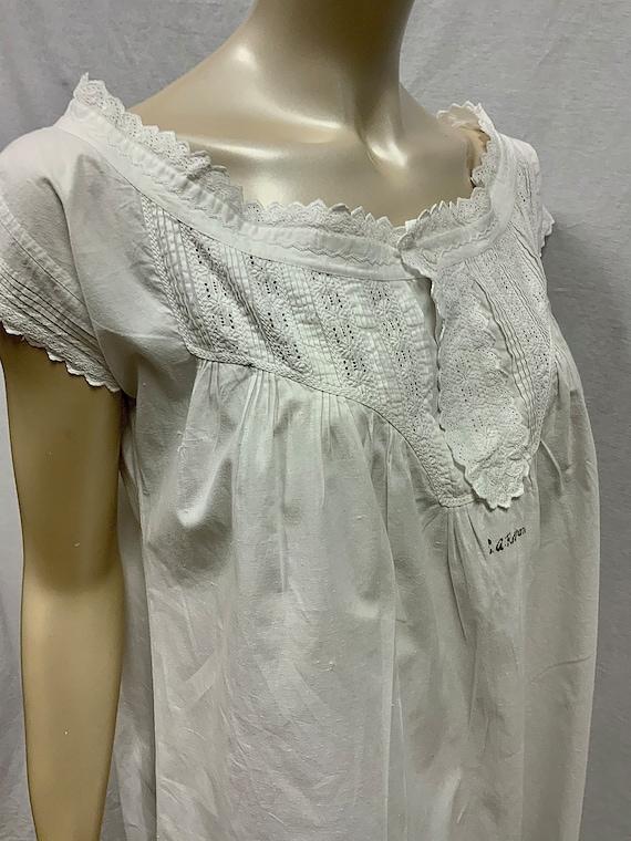 Edwardian Cotton Nightgown S/M