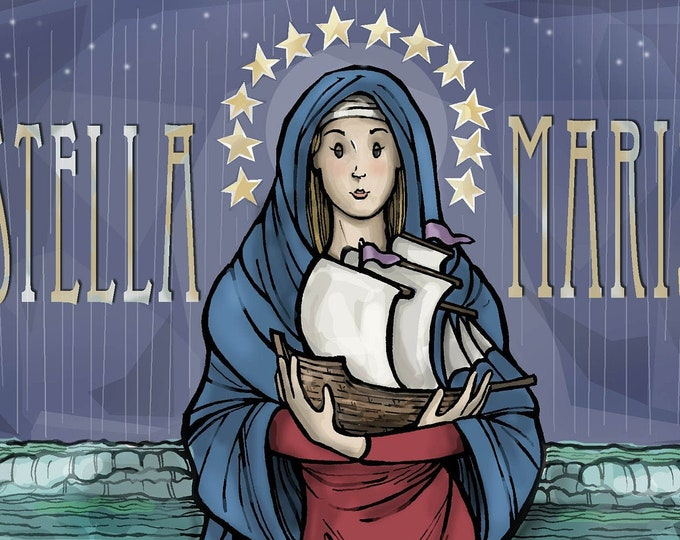 Stella Maris, Star of the Sea Art Print