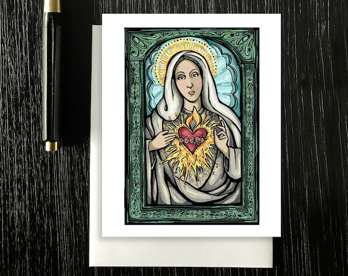 Blessed Mother Note Cards