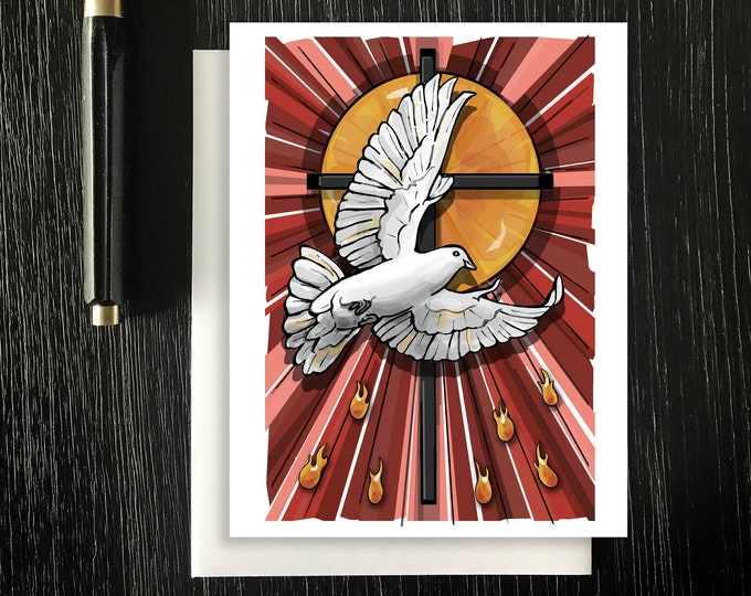 Gifts of the Holy Spirit - Confirmation Note Cards
