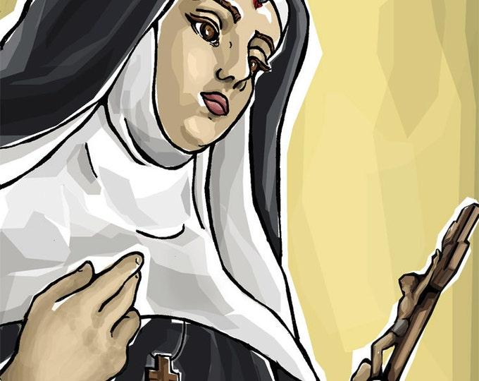 St. Rita Prayer Card