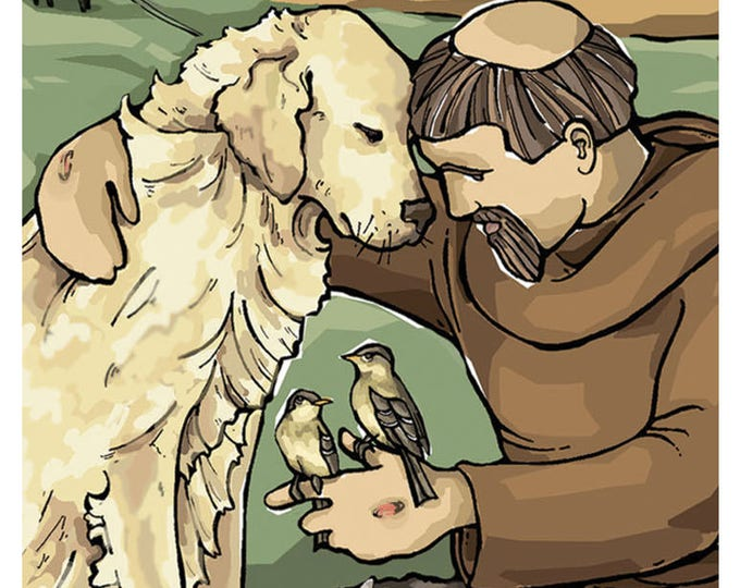 St. Francis of Assisi Prayer Card for Pets