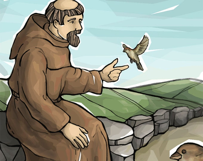 St. Francis of Assisi Prayer Card for Peace