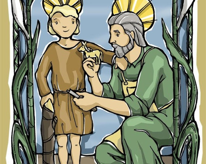 St. Joseph Prayer Card for Fathers