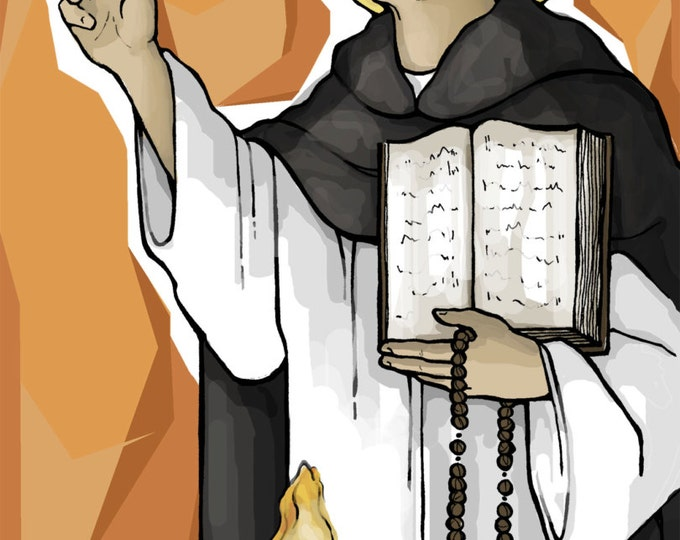 St. Dominic Prayer Card