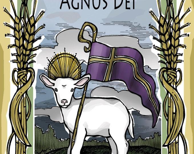 Lamb of God Prayer Card