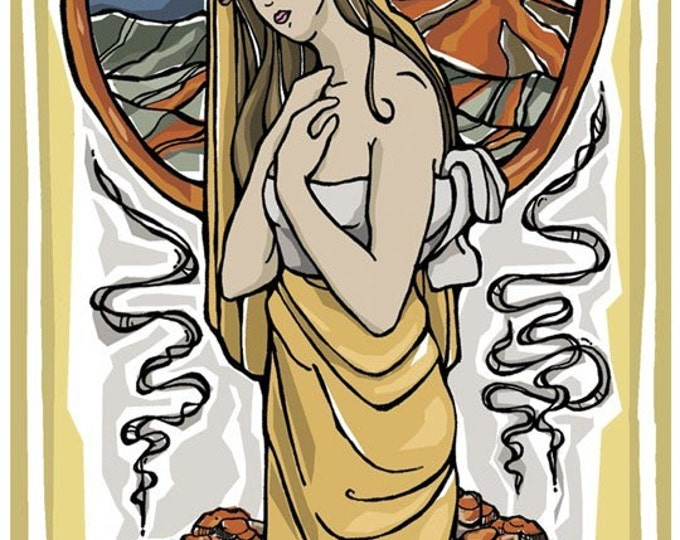 St. Agatha Prayer Card