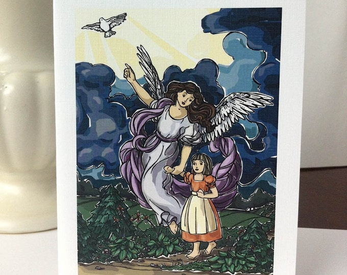 Note Cards - Guardian Angel