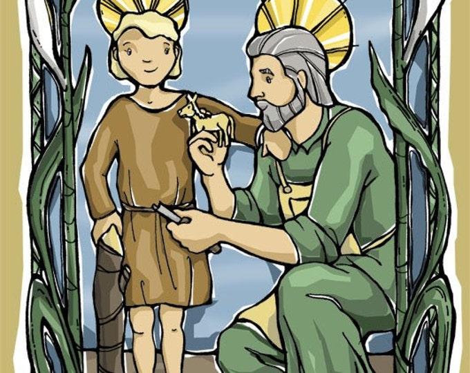 St. Joseph Prayer Card for Fathers
