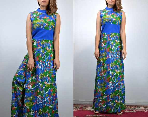 Vintage Two Piece Outfit 70s Retro Japanese Novel… - image 5