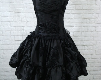Gothic Lolita Bustle Dress