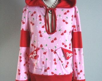 Kawaii Cherry Pop Hoodie O/S