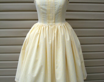 Lemon Drop Martini Tea Length Dress