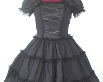 Dark Romantic Gothic Lolita Dress