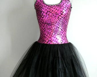 Frothy Gothy Party Slipdress