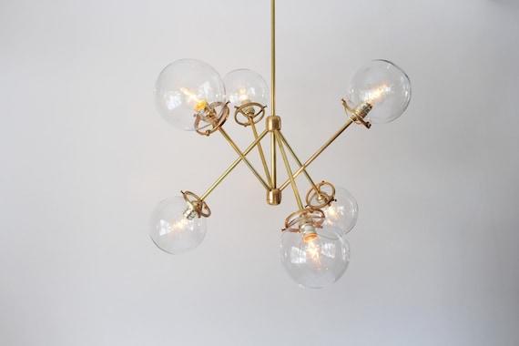 Kronleuchter Glaskugeln ~ Decke kronleuchter kristall glaskugeln licht leuchten beleuchtung