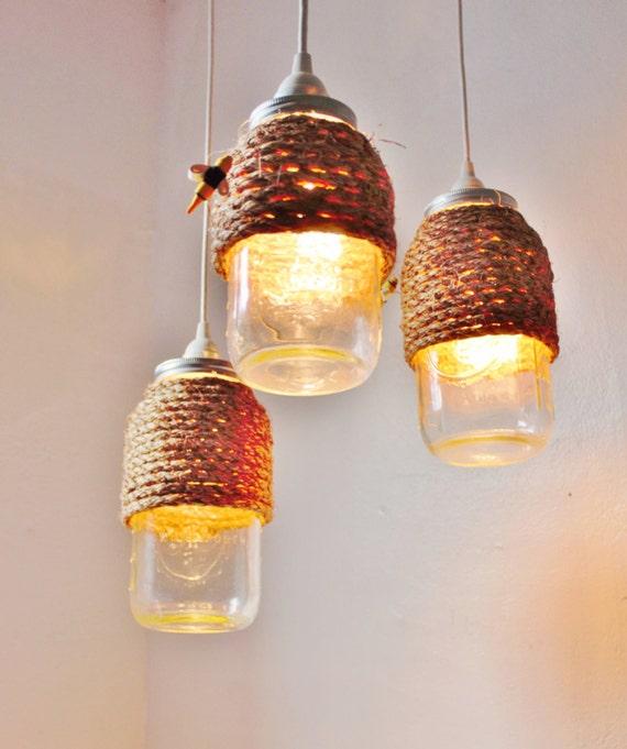 Stargaze Set Of 2 Hanging Mason Jar Pendant Lights By: The Hive Mason Jar Pendant Lights Set Of 3 Hanging