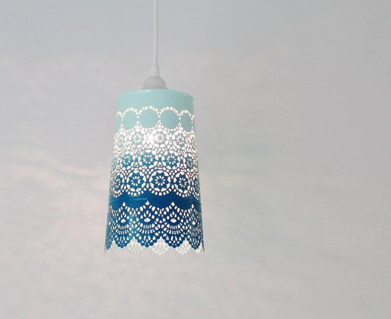 Ombre Pendant Light Hanging Pendant Lighting Fixture Metal