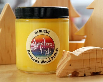 Beeswax Wood Polish with Organic Jojoba Oil (4 & 6 oz. options)