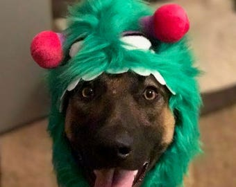 Dog_Cat Monster Costume-Dog_Cat Monster Hat-Cat Monster Costume for Cat_Dog-Dog Halloween Costume-Dog Monster Hat