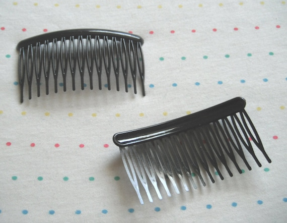 Large Plastic Hair Combs for Fascinators and Millinery 9.5cm Clear 3 34 Wide