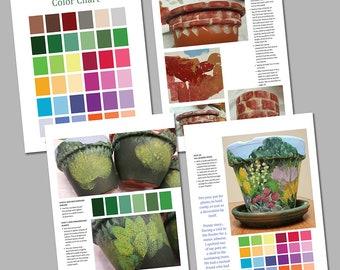 TUTORIAL Spring Has Sprung Painted Garden Instant PDF Download