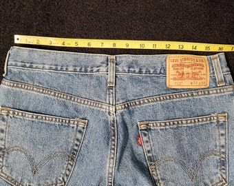Vintage Levi's 512 Slim Fit, Waist 34, Length 34