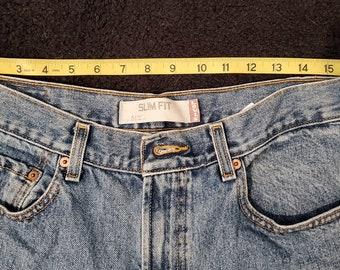 Vintage Levi's 512 Slim Fit, Waist 33, Length 34
