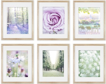 Spring Gallery Wall - The Kristy Wicks Serenity Photography Collection, French Gallery Wall, Large Wall Art, French Decor