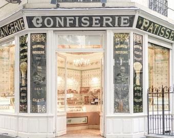 Paris Photograph   Patisserie Boris, Classic Paris Photography, Bakery,  Kitchen Decor, French Home Decor, Large Wall Art