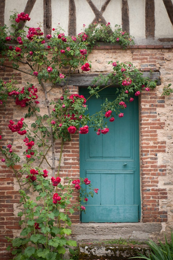 France Photography French Country Blue Door Home Decor