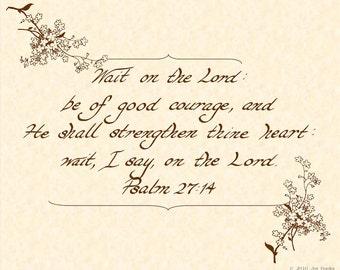 twenty third psalm kjv