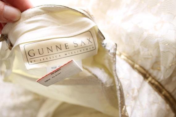 vintage Gunne Sax dress white lace wedding dress … - image 5