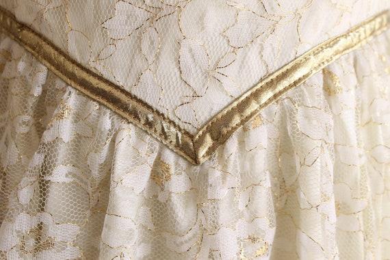 vintage Gunne Sax dress white lace wedding dress … - image 3