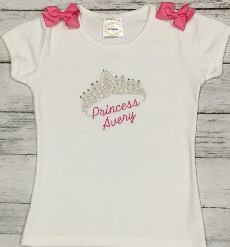 8850e7419 Princess Crown Swarovski Crystal PERSONALIZED Pink & Silver | Etsy