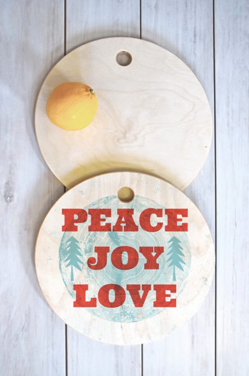 Christmas Cutting Board // Serving Board // Kitchen // 3 Sizes image 0