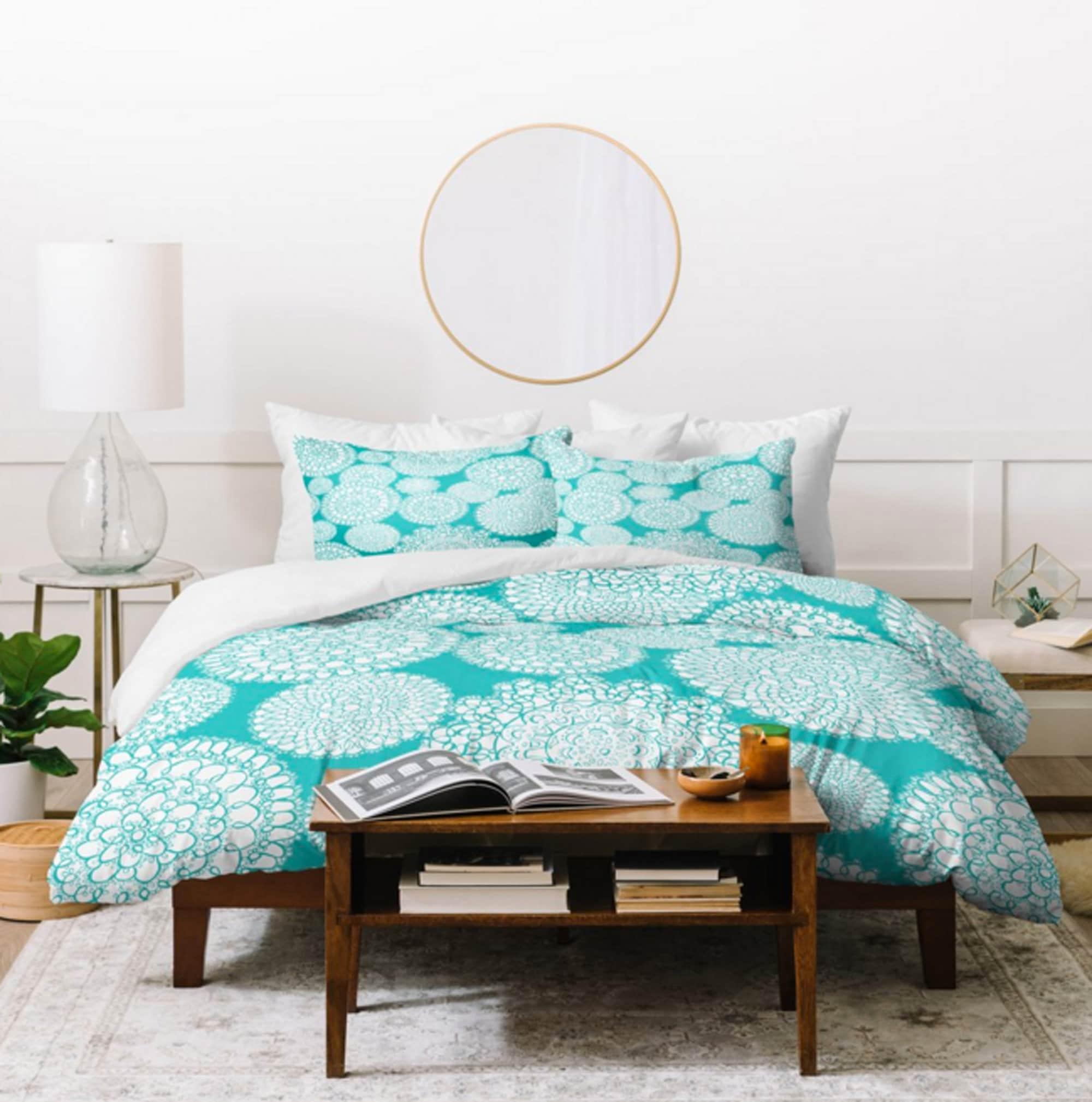 Boho Duvet Cover // Home Decor // Bedding // Twin Queen