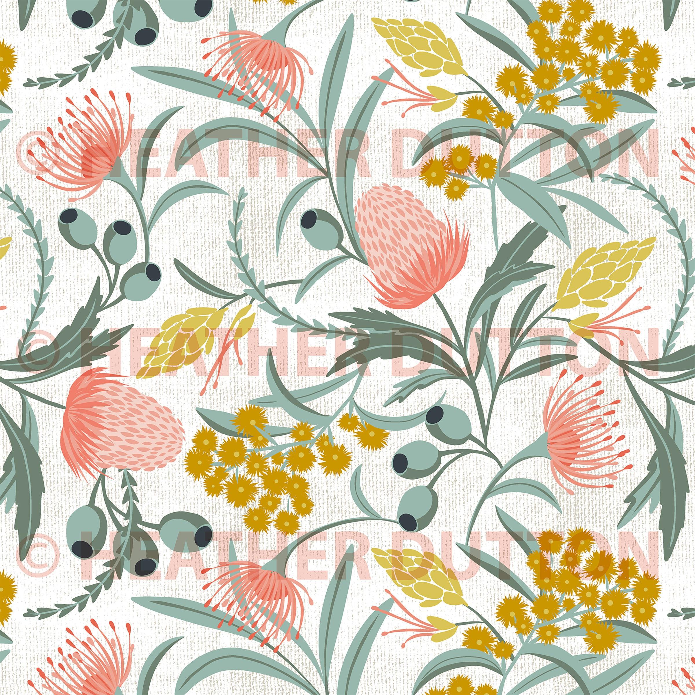 Couverture de couette florale // Couverture de duvet de Boho // Duvet Cover Queen // Home Decor // Lightweight Duvet Cover // Duvet Cover King // Australis White