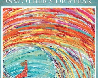 Back in stock! My book :  (Signed copy) On the Other Side of Fear, Poetry and Art by Julia Fehrenbacher