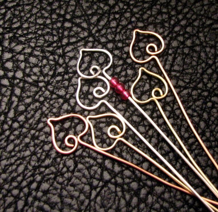 Assorted Eye Pins, 7/8, Standard