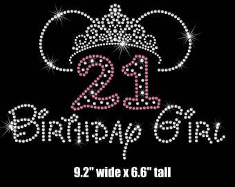 21st birthday girl etsy